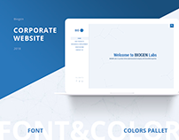 Corporate • Biogen • Anabolics • UI • Web • Design