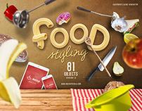 Food Styling PSD Scene Generator