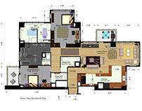 Interior Design of an Apartment in Dubai