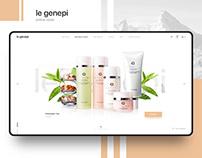 le genepi. Сosmetic online store. Beauty