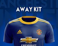 Manchester United Football Kit 18/19.