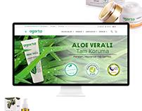 Agarta Web Sitesi-Ambalaj Tasarımı