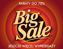 Big Sale - emailing campaign fashion store Riccardo.pl