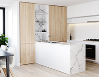 White Kitchen Reference by Image (CHT Architects)