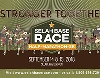 Selah Base Race Marketing Material
