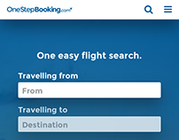 OneStepBooking.com - Responsive flight booking