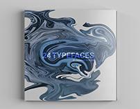 24 Typefaces