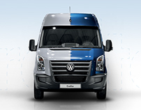 Volkswagen Crafter Minisite