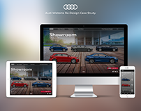 UX/UI Audi Website Responsive design case study