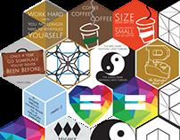 Hexagon Stickers