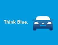 Volkswagen Think Blue - Icon Design