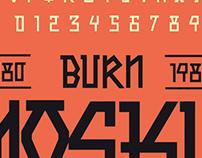 Burn Mosku / Tipografia