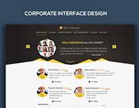 Corporate Interface Design