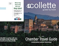 Collette Brochure Cover & Index Spread