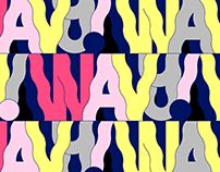 Wavy Typeface