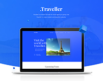Traveller - Travel Landing Page