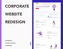 Website Redesign | TechGig Corporate