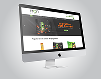 MODdisplays Webpage