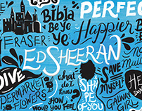 Ed Sheeran Teaser & Lyric Animation