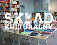 Skład Kulturalny - bookstore- identity and interior