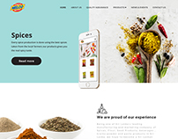 Nelco Food Products Landing Page