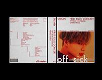 TAEMIN 1st Solo Concert Off-Sick