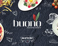 Buono Italian Restaurant | Corporate Identity