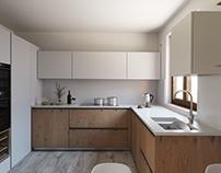 Rendering kitchen