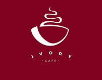 Ivory Cafe Branding
