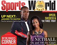 Sports World Magazine Design