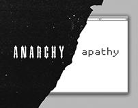 ANARCHY/apathy