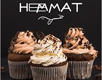 HEMMAT CHOCOLATE & CUPCAKE LOGO