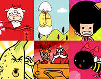 Animated Sticker Pack Collection for WeChat