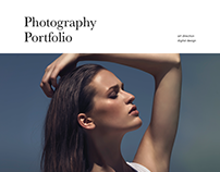 Photography Portfolio Webdesign
