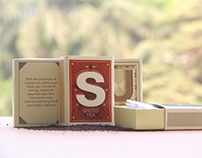 Alphabet Matchbox Tea