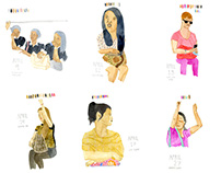 Ladies in Jeepneys