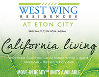 West Wing Residences at Eton City - Pull Up Banner