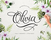 Olivia Script Font