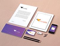 Identidad de marca para Entelarte - Logo + Tarjeta + Fb