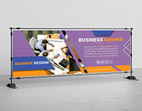 Simple Business Banner Design .