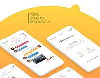 ApproachNow. iOS Application UI/UX