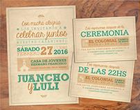 Invitaciones a casamiento