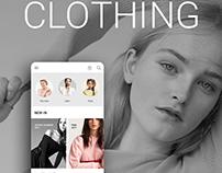 Clothing App User Interface Designing