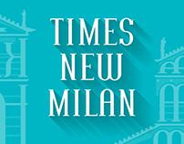 Times New Milan ~ font