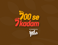 700 se 7 kadam | Dabur SaniFresh