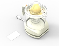 Solidworks Individual Project:The Black & Decker Juicer