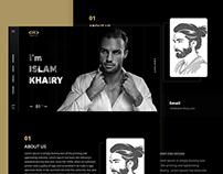 IK - vCard, Resume & Portfolio Theme Free Psd