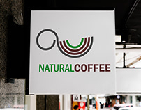 Natural Coffee logo & branding