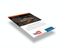 Vault Email newsletter design