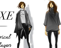 Black on Black Fashion Illustrations
